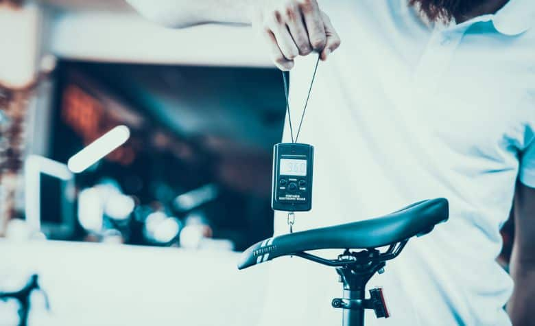bicycle weight measurement