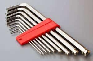 Allen key tool