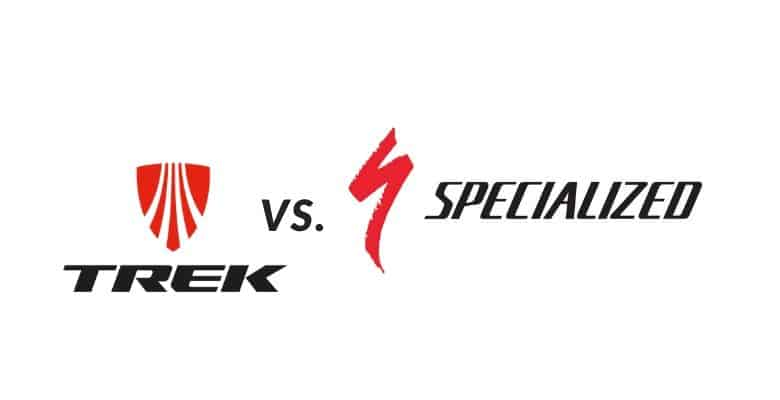 Trek Vs. Specialized Logo